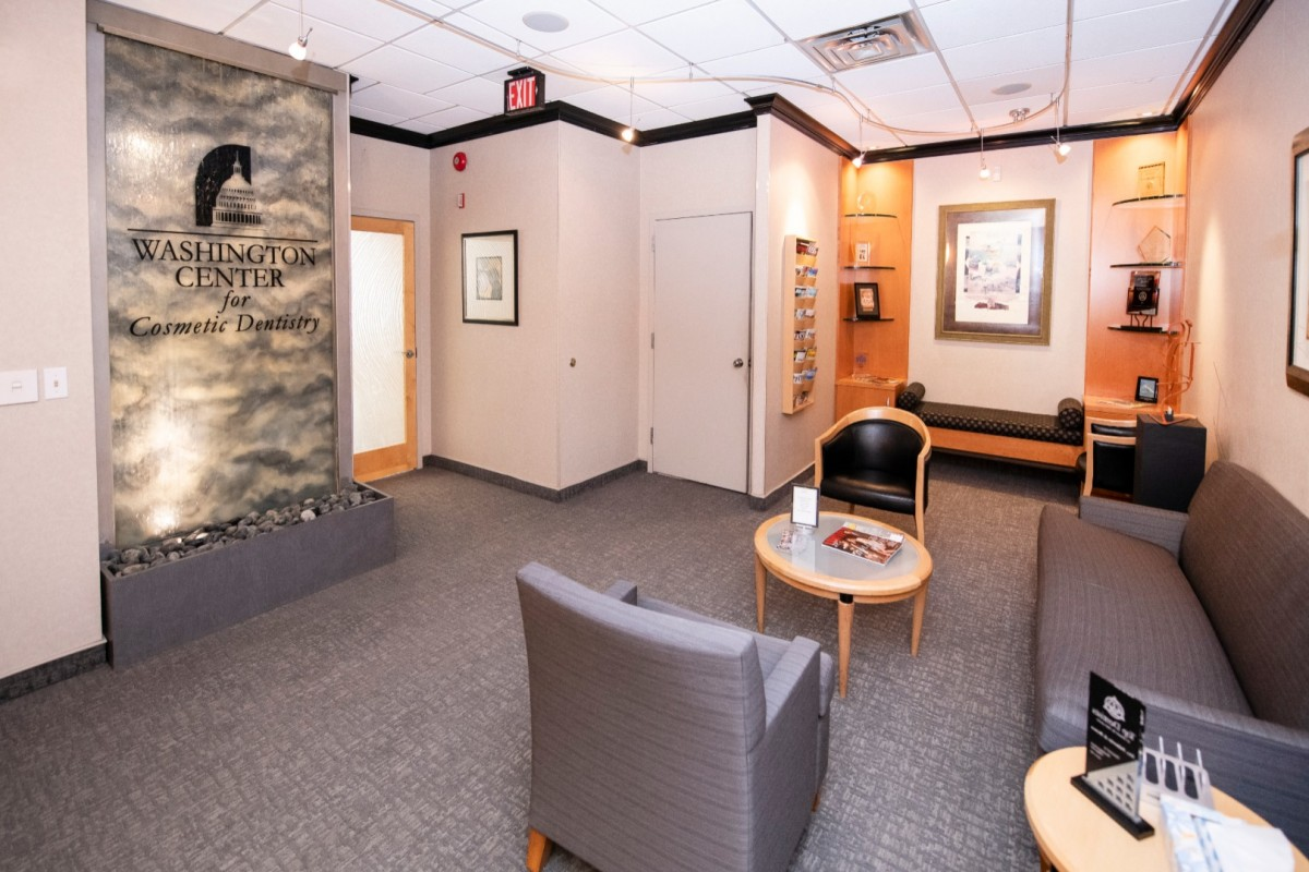 Washington Center for Cosmetic and Family Dentistry Waiting Area Best Dentist Washington DC.jpeg