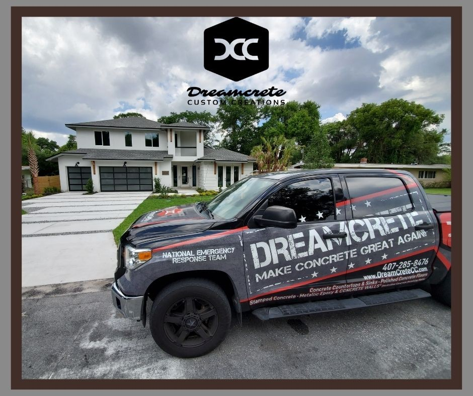 Top Rated Concrete Driveway Contractor Serving Residential and Commercial Projects for Local Customers in Orlando, FL