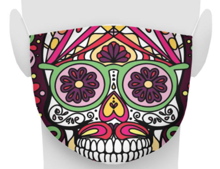 Fun New Skull Mask Collection Released by SugarSkulls.io - WBOC TV